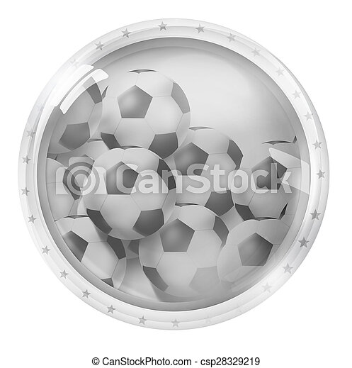 Round Icon Button Symbol - csp28329219