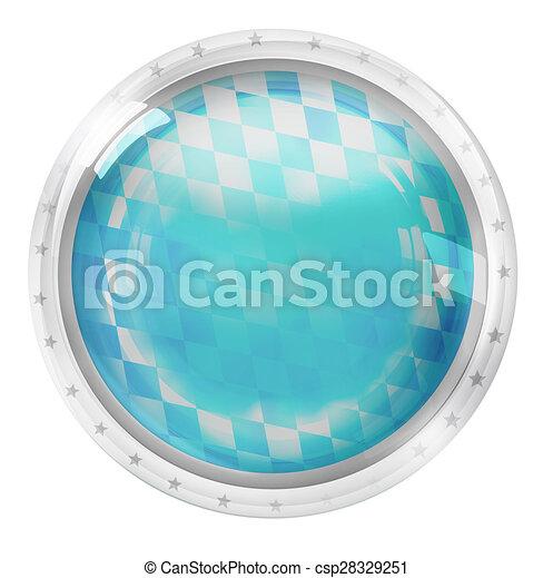 Round Icon Button Symbol - csp28329251