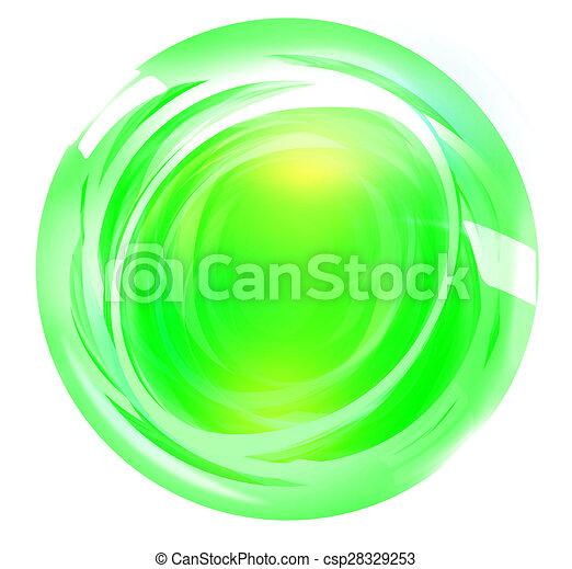 Round Icon Button Symbol - csp28329253