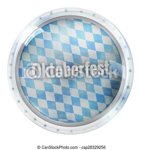 Round Icon Button Symbol - csp28329256