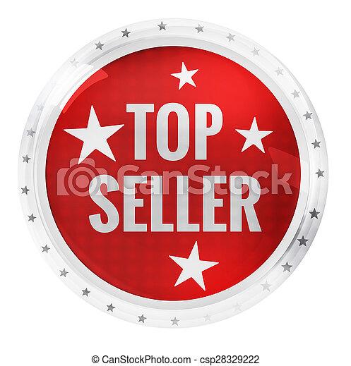 Round Icon Button Symbol - csp28329222