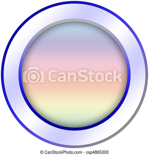 Round icon button template - csp4865300