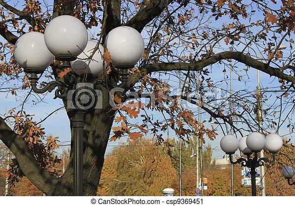 Round lights - csp9369451
