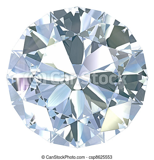 Round, old european cut diamond - csp8625553