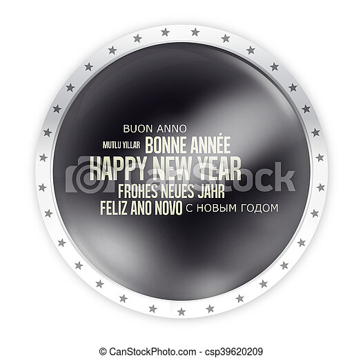 round opacity button icon 3d render isolated - csp39620209