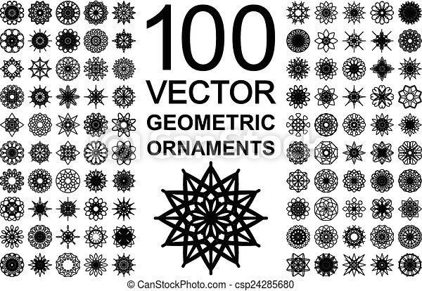 Round Ornament Set - csp24285680