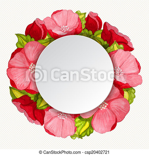 Round pink peony flowers vintage frame round watercolor pink peony round pink peony flowers vintage frame csp20402721 mightylinksfo