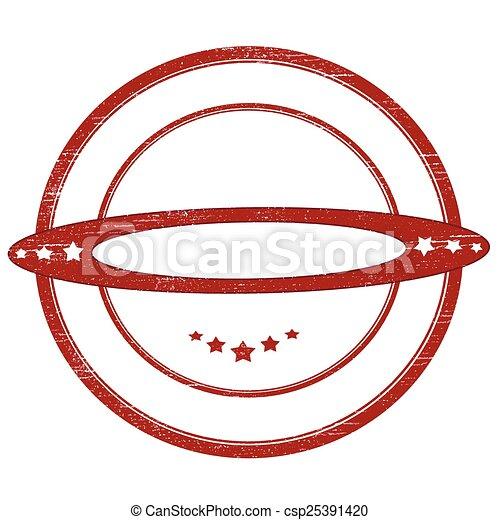 Round stamp - csp25391420