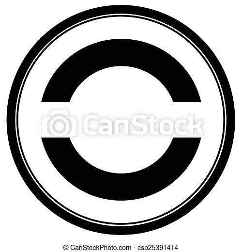 Round stamp - csp25391414
