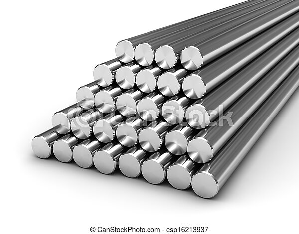Round steel bars - csp16213937