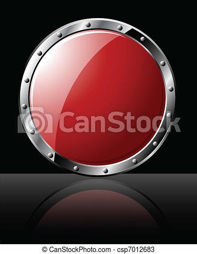 Round Steel Shield  - csp7012683