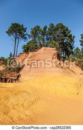 Roussillon ochres - csp28522365