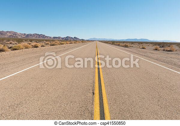 Route 66 California - csp41550850