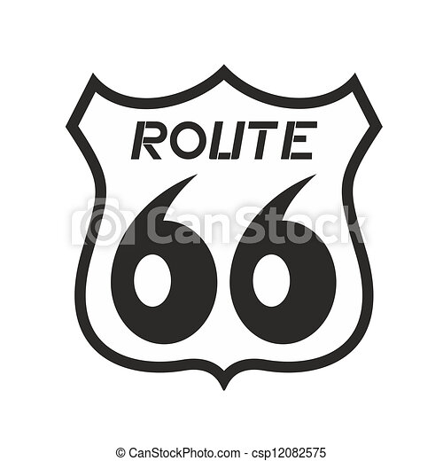 Illustration Of Route 66 Icon Vectors Illustration Search Clipart