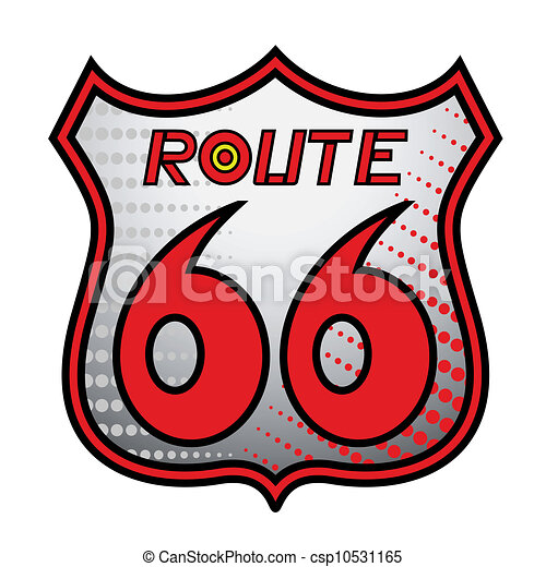Route 66 Sign Design Of Route 66 Sign