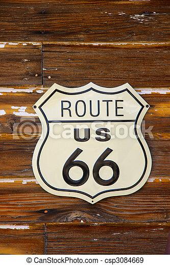 Route 66 - csp3084669