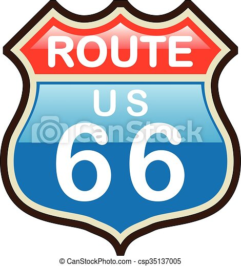 route 66 vector sign vector clipart search illustration drawings rh canstockphoto ca route 66 clipart without border route 66 clip art free