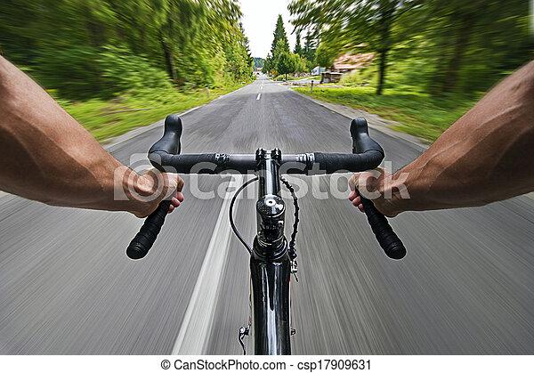 route, cyclisme - csp17909631