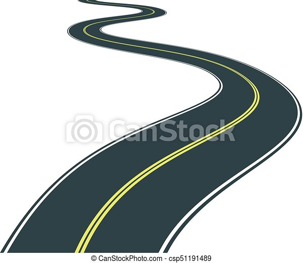 route isolated road curves clip art illustration rh canstockphoto com clip art road runner cartoon clip art road repair