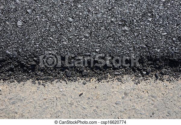 route, nouveau, asphalte - csp16620774