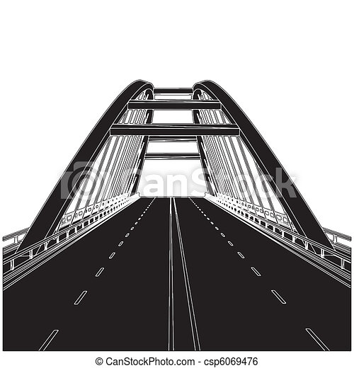 route, pont - csp6069476