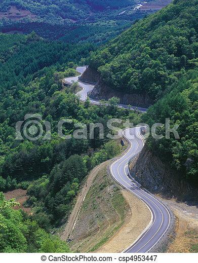 route, vue - csp4953447