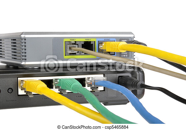 router and internet phone adapter - csp5465884