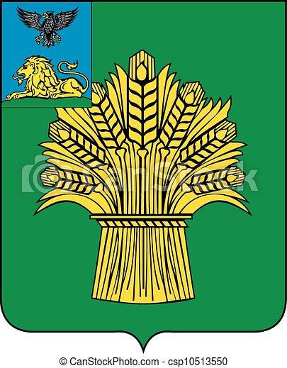 Rovenki Rayon Coa Various Vector Flags State Symbols Emblems Of