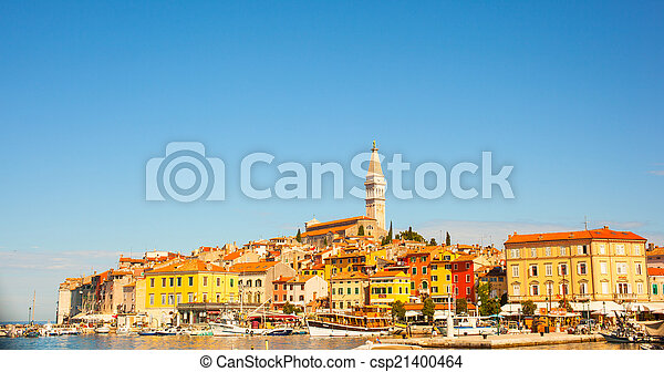 Rovigno - Rovinj, Croatia - csp21400464