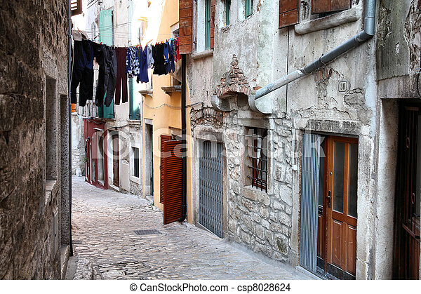 Rovinj, Croatia - csp8028624