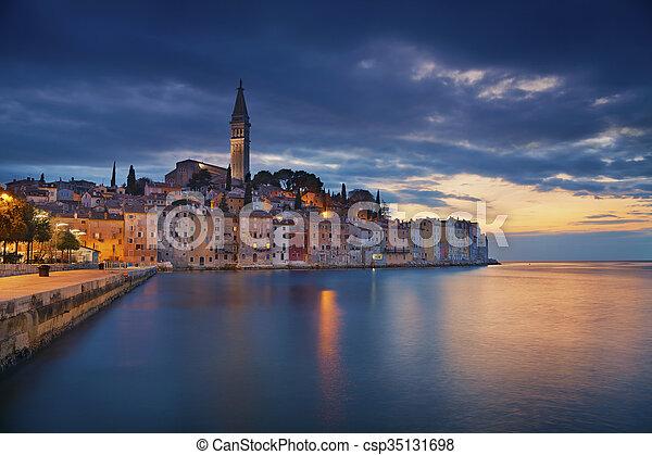 Rovinj, Croatia. - csp35131698