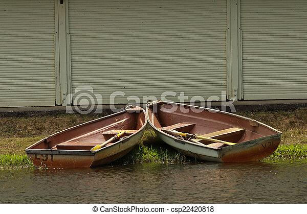 Row Boats - csp22420818