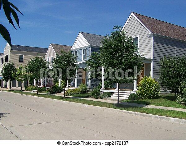 Row Homes 1 - csp2172137