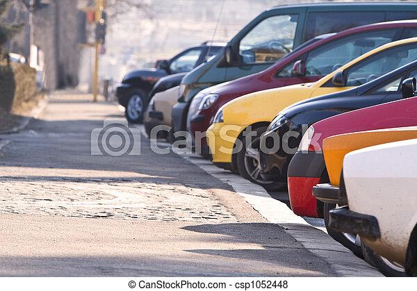 Row of cars - csp1052448