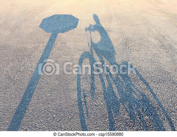 rowerowe bezpieczeństwo - csp15590880