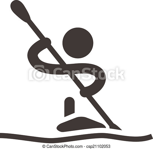 Rowing and Canoeing icon - csp21102053