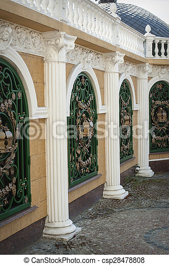 rows of classical columns - csp28478808