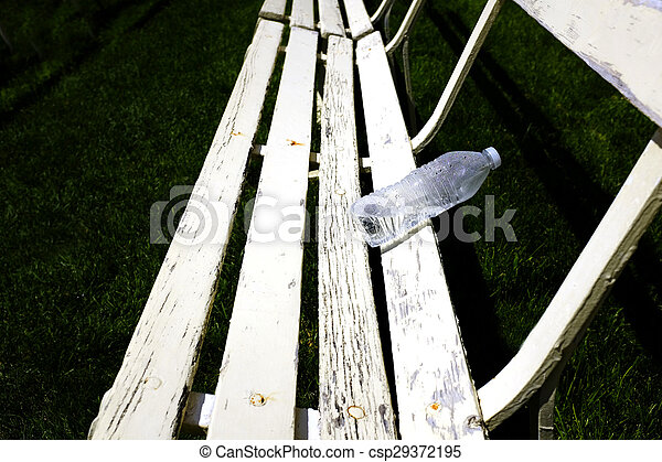 Pleasant Rows Of White Park Benches For Sitting On Green Grass Alphanode Cool Chair Designs And Ideas Alphanodeonline