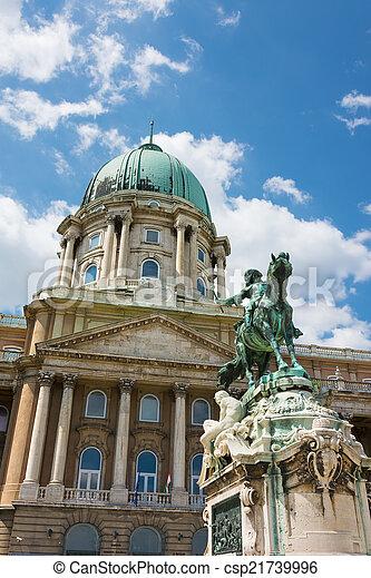 Royal Castle of Buda Budapest Hungary - csp21739996