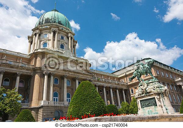 Royal Castle of Buda Budapest Hungary - csp21740004