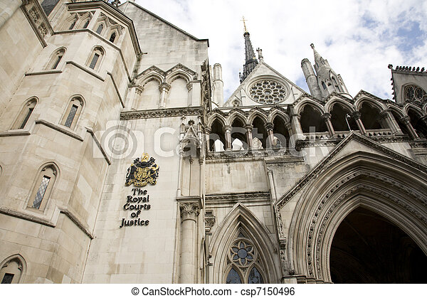 Royal Courts of Justice - csp7150496