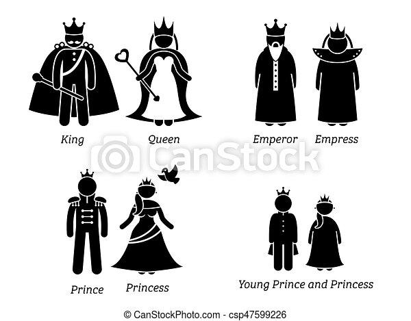 Royal Family. - csp47599226