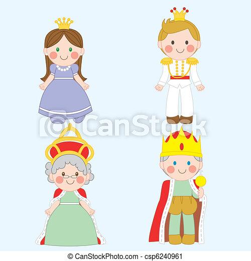 Royal Family - csp6240961