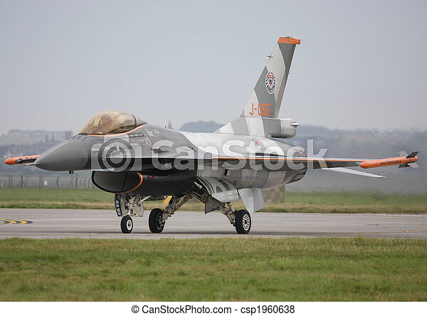 royal netherlands airforce f16 - csp1960638