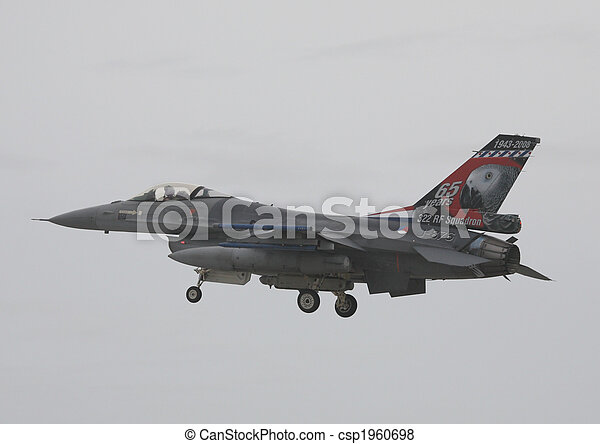 royal netherlands airforce f16 - csp1960698