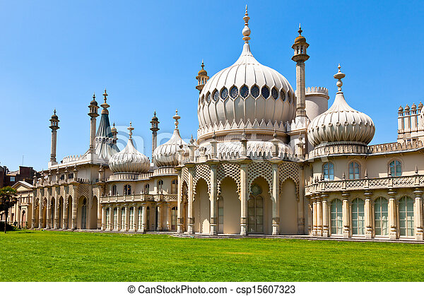 royal, pavillon, brighton - csp15607323