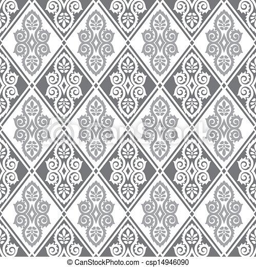 Royal seamless wallpaper - csp14946090