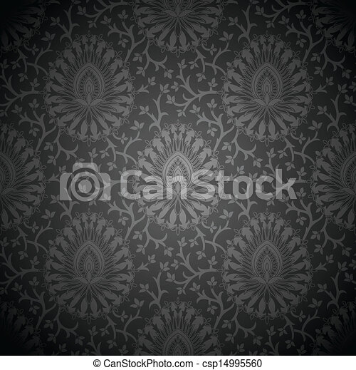 Royal vector seamless wallpaper - csp14995560