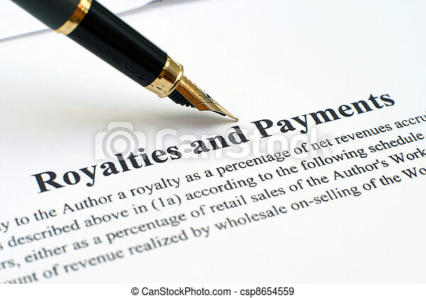 Royalties and payments - csp8654559