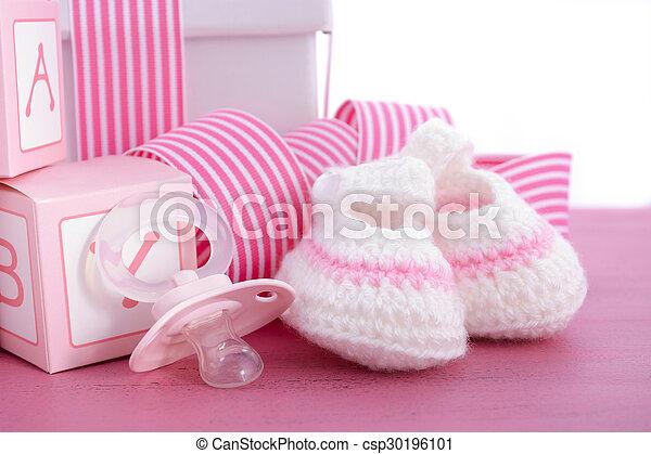 Roze Cadeau Douche Baby Meisje Zijn